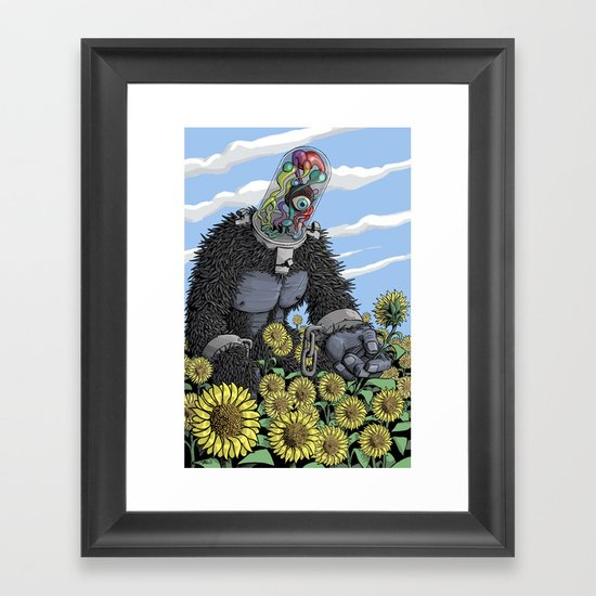 The Unshackled Dream Framed Art Print