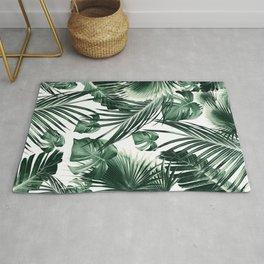 Tropical Jungle Leaves Dream #7 #tropical #decor #art #society6 Rug