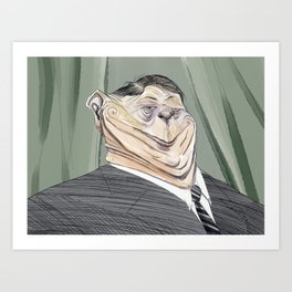 The One Percent Number Two Art Print
