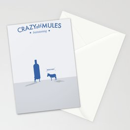 Crazy old Mule / Absolut Stationery Cards