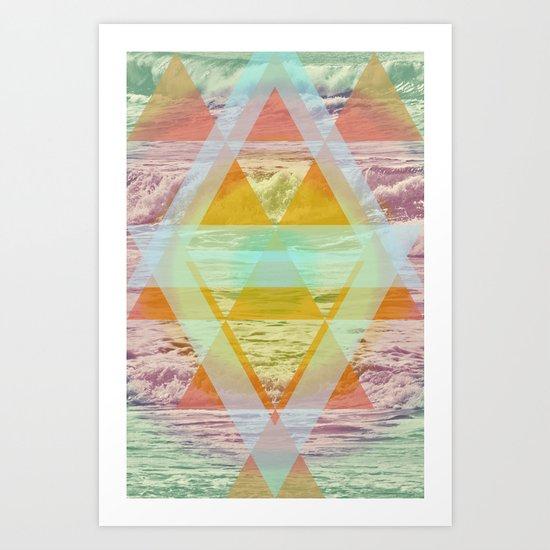 Isla  Art Print