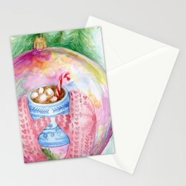 Warm reflection Stationery Cards