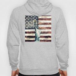 Vintage Patriotic American Liberty Hoody