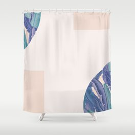 Mid-Century Candy Tropical pt.02 #society6 #tropical Shower Curtain