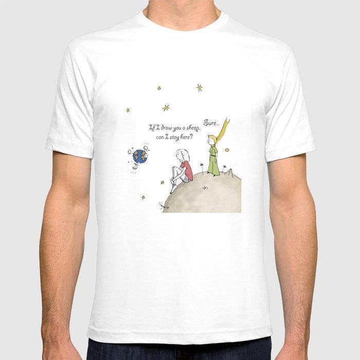 Draw Me A Sheep T Shirt By Susanamirandailustracin Society6