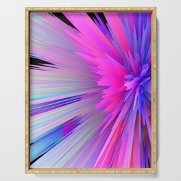 iDeal - Pink Explosion Serving Tray