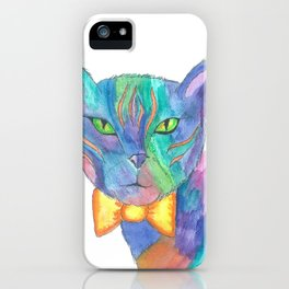 Mr. Fancy Paws iPhone Case