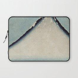 Hokusai, the blue fuji- hokusai,manga,japan,fuji, blue fuji,Shinto Laptop Sleeve