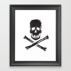 you are a dead thing Framed Art Print