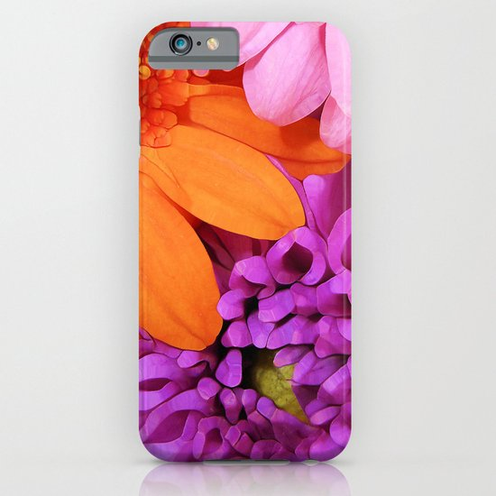 FLOWERS ARE HOT (they'll brighten any day!) iPhone & iPod Case