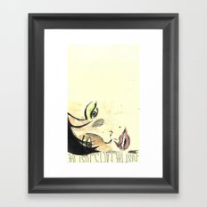 Just the Facts Framed Art Print