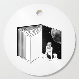 Reading is Dreaming with Your Eyes Open Cutting Board