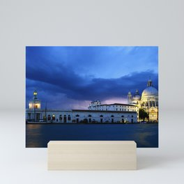 Lightning in Venice Mini Art Print