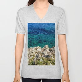 Saturday By The Sea Unisex V-Neck