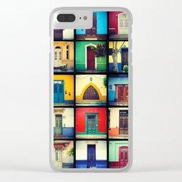 puertas BARRANCO Clear iPhone Case