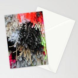 Neon Fringe Stationery Cards