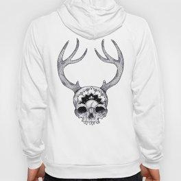 Mandala Skull With Gorgeous Antlers Hoody