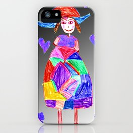 Mrs Evi iPhone Case
