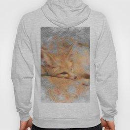 Artistic Animal Fennec Fox Hoody