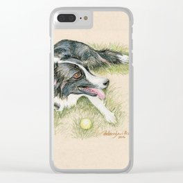 SPARKY Clear iPhone Case