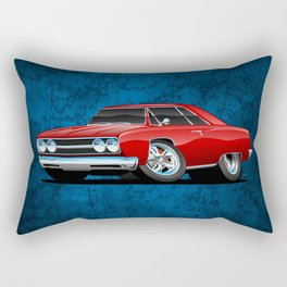 Classic Muscle Car Cartoon Rectangular Pillow