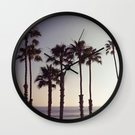 San Clemente Sunset 2 Wall Clock