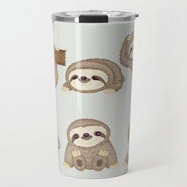 Sloth of various poses Travel Mug