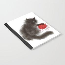 Mischievous cat Notebook