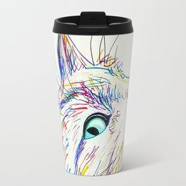 Color Cat Travel Mug