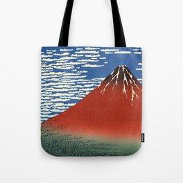 Fuji mountains - Katsushika Hokusai Tote Bag