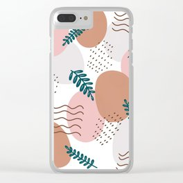 Fall vibes Clear iPhone Case