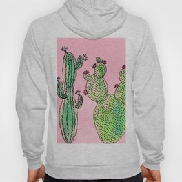 Woman and man cactus Hoody