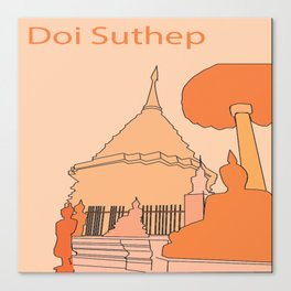 Doi Suthep, Thailand Canvas Print