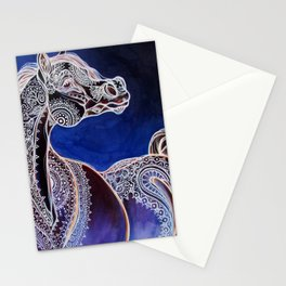 Mehandi Arabian Mares Stationery Cards