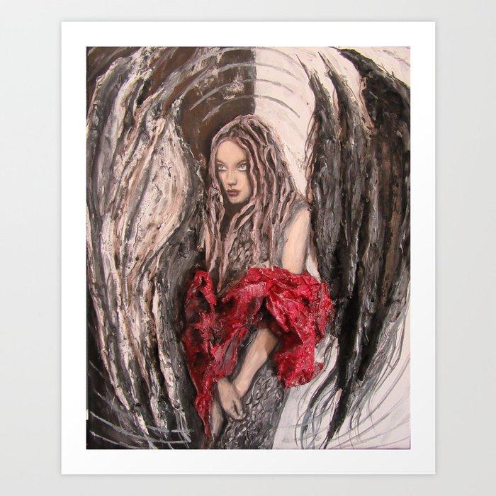 Halo - the Goddess Art Print