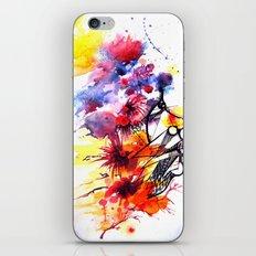 face2 iPhone & iPod Skin