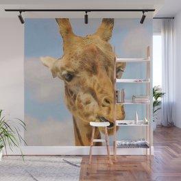 Extraordinary animals-Giraffe Wall Mural