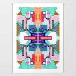 十三 (Shísān) Art Print