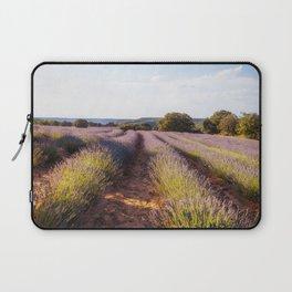 Lavender Fields at Sunset Laptop Sleeve