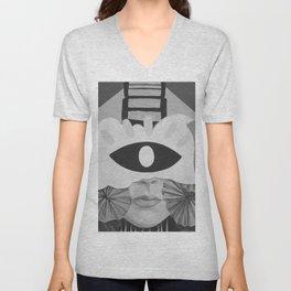 What is Art? (Black and White) Unisex V-Neck