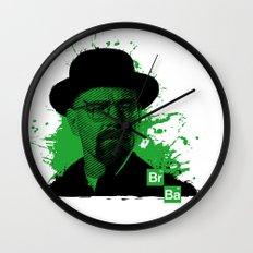 Breaking Bad Green Wall Clock