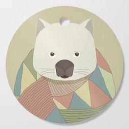 Whimsical Wombat Cutting Board
