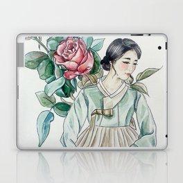 Roses (Hanbok girls) Watercolor Laptop & iPad Skin