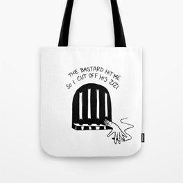 Sweet Jailhouse Blues Tote Bag