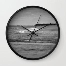 Next stop Antarctica Wall Clock
