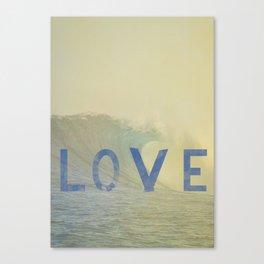 love surf Canvas Print