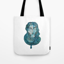 A Day in Blue Tote Bag