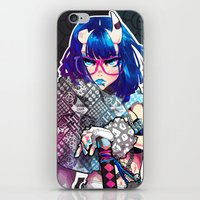 barachan iPhone & iPod Skins featuring tough by barachan