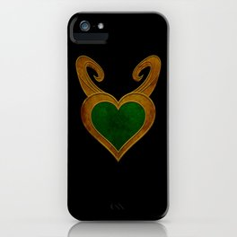 Heart Of Chaos iPhone Case