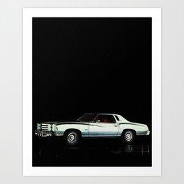 1976 Chevrolet Monte Carlo Art Print